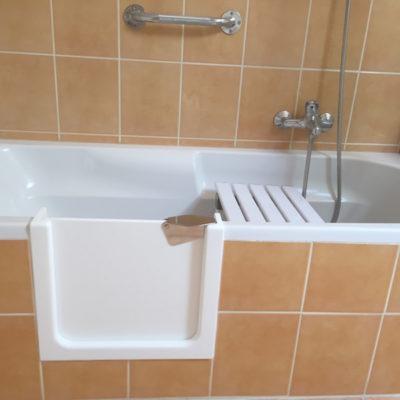 accueil - ouverture baignoire
