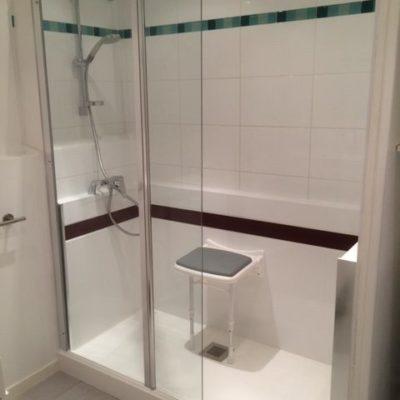 accueil - transformation en douche