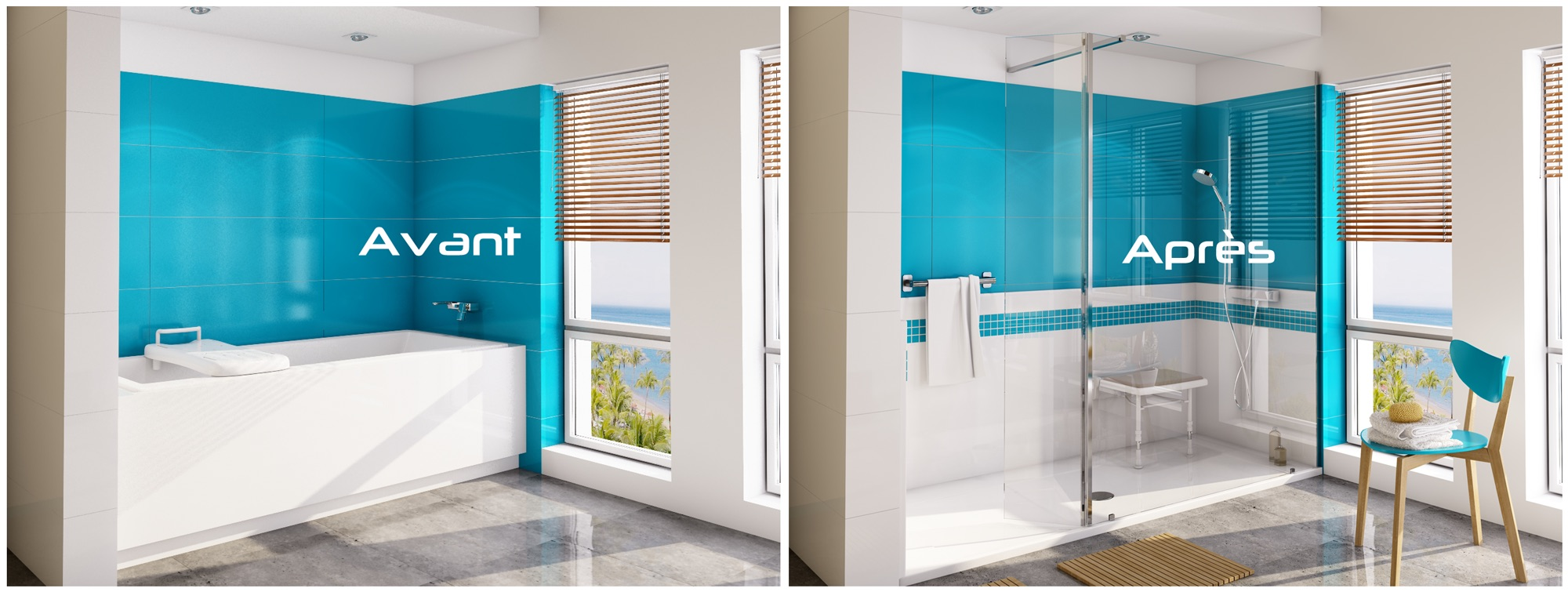 transformation de baignoire en douche r novbain. Black Bedroom Furniture Sets. Home Design Ideas
